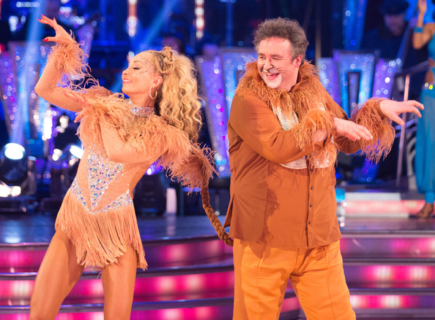 Mark and Iveta enjoy their last dance