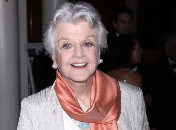 Angela Lansbury attending the The Players Special Pipe Night honoring Audra McDonald, held at The Players at Gramercy Park.