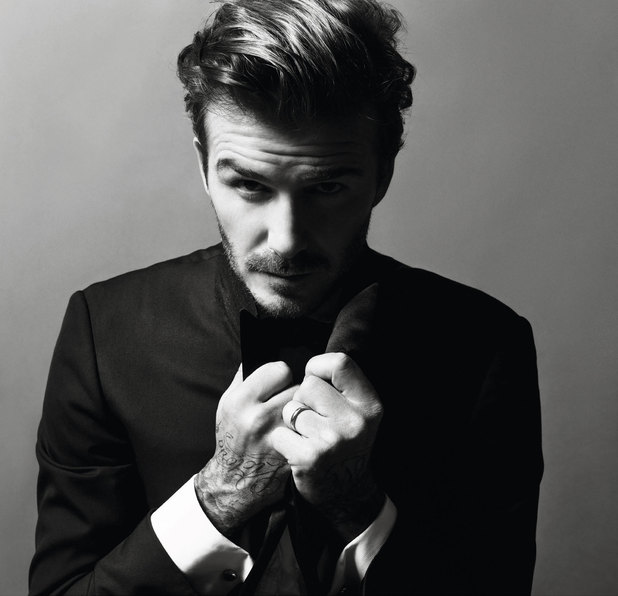 David Beckham in the Christmas issue of Vogue Paris