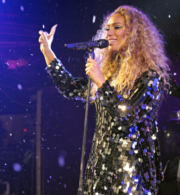 Leona Lewis performs at G-A-Y