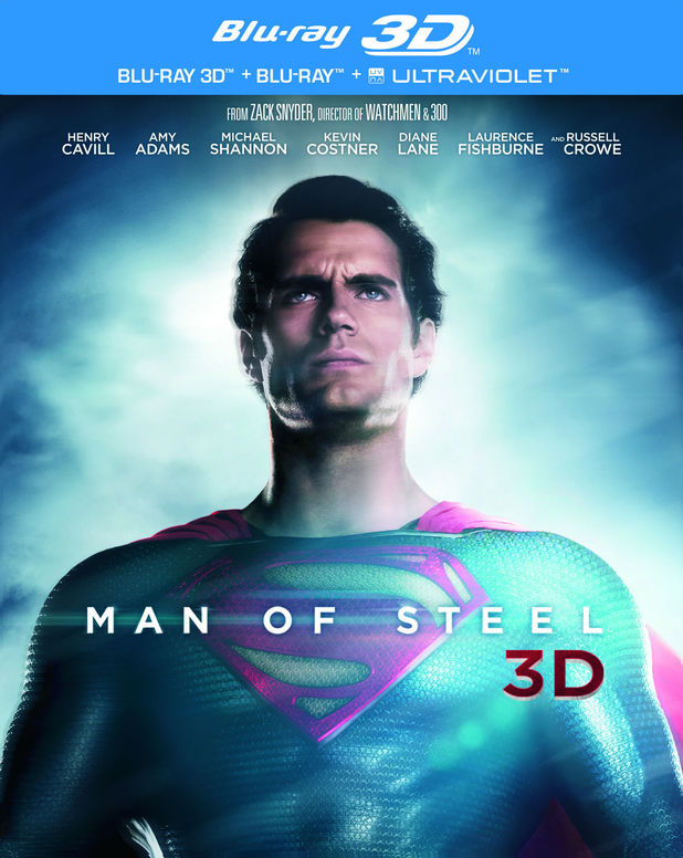 Man of Steel Blu-ray pack shot
