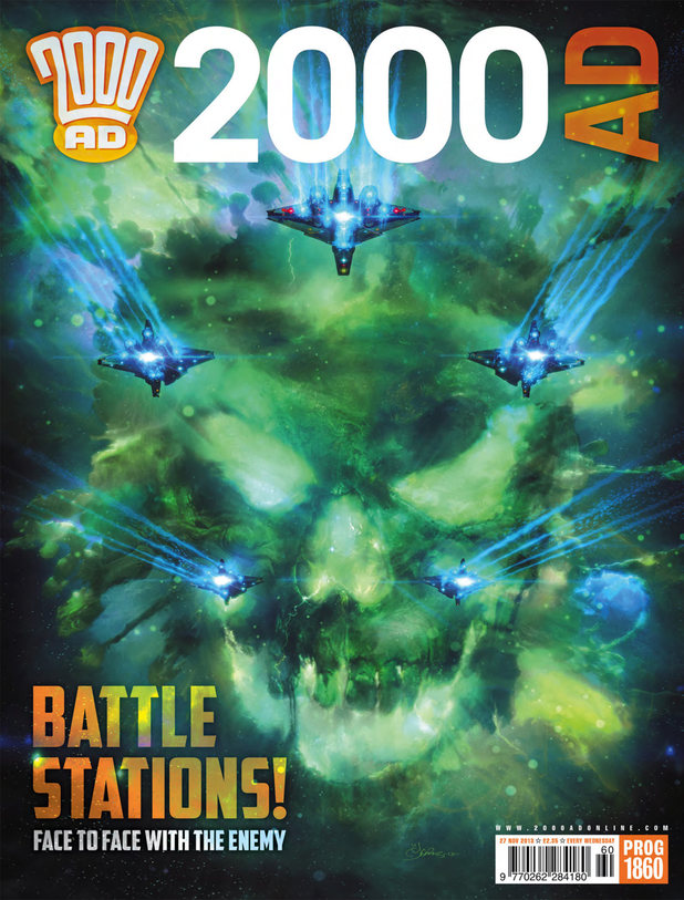 '2000 AD Prog Report 1860' cover