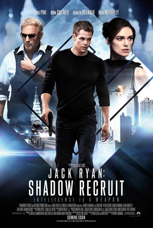 Jack Ryan: Shadow Recruit UK poster