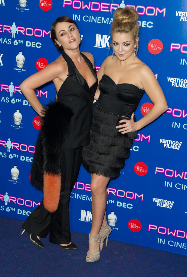UK Premiere of 'Powder Room' at Cineworld Haymarket - Red Carpet ArrivalsPeople: Jaime Winstone & Sheridan Smith