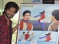 The Indian actor unveils the first ever custom comic book for a Bollywood film.