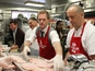 Neil Patrick Harris serves homeless food
