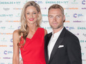 The former Boyzone singer wed the 34-year-old model in East Lothian, Scotland.