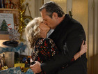 EastEnders: Carol and David kiss at Christmas - spoiler pictures