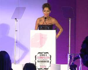 Nicole Scherzinger sings Mandela tribute during Cosmos speech
