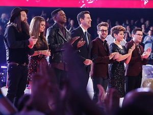 The Voice top 6 show