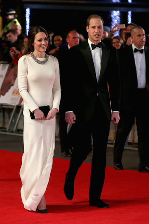 The Duke and Duchess of Cambridge arriving arriving for the Royal Film Performance of Mandela: Long Walk to Freedom, at the Odeon Leicester Square, London. Picture date: Thursday December 5, 2013. Photo credit should read: Chris Jackson/PA Wire