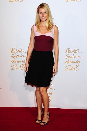 Gwyneth Paltrow arriving for the 2013 British Fashion Awards, at The London Coliseum, St Martin's Lane, London.