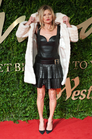 Kate Moss arriving for the 2013 British Fashion Awards, at The London Coliseum, St Martin's Lane, London.