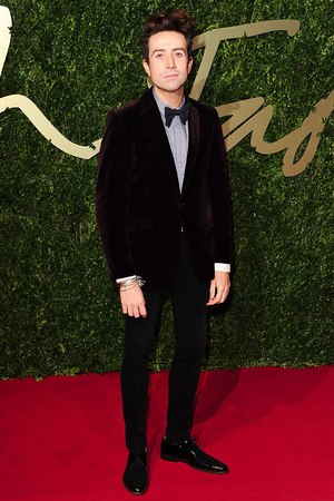 Nick Grimshaw arriving for the 2013 British Fashion Awards, at The London Coliseum, St Martin's Lane, London.