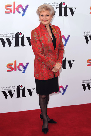 Angela Rippon at the Women in TV and Film Awards