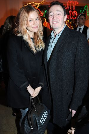 Stella McCartney store Christmas lights switching on ceremony, London, Britain - 04 Dec 2013 Sienna Miller, Paul Whitehouse 4 Dec 2013