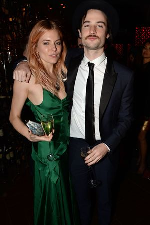 Playboy 60th anniversary party at the Playboy Club, London, Britain - 02 Dec 2013 Sienna Miller, Tom Sturridge
