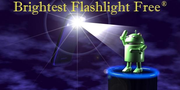 Goldenshore's Brightest Flashlight app
