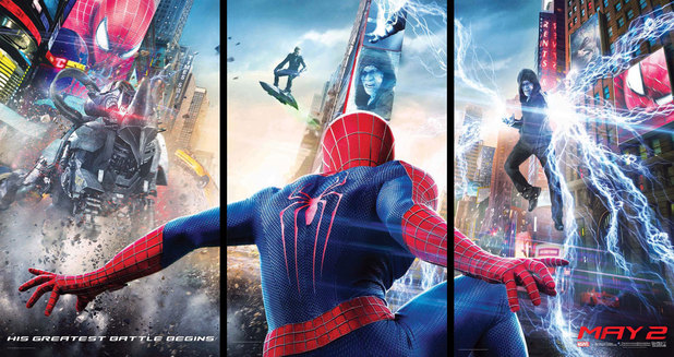 The Amazing Spider-Man 2 villains poster