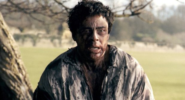 Benicio Del Toro in 'The Wolfman'