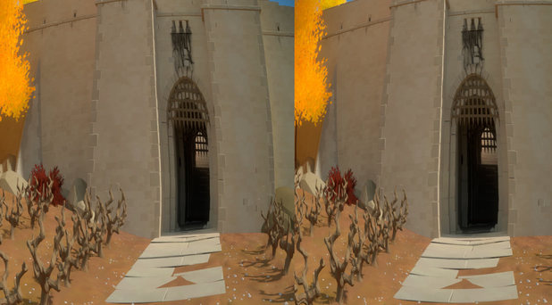 The Witness teases Oculus Rift support