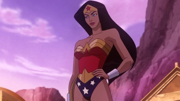 Wonder Woman voiced by Keri Russell