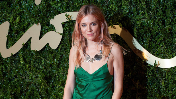 Sienna Miller for the 2013 British Fashion Awards, at The London Coliseum, St Martin's Lane, London.