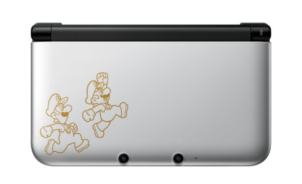Limited edition 3DS XL comes pre-installed with Mario & Luigi: Dream Team.