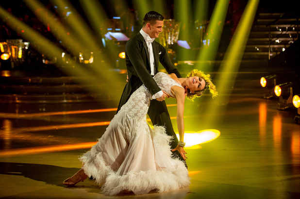 Aljaz Skorjanec and Abbey Clancy