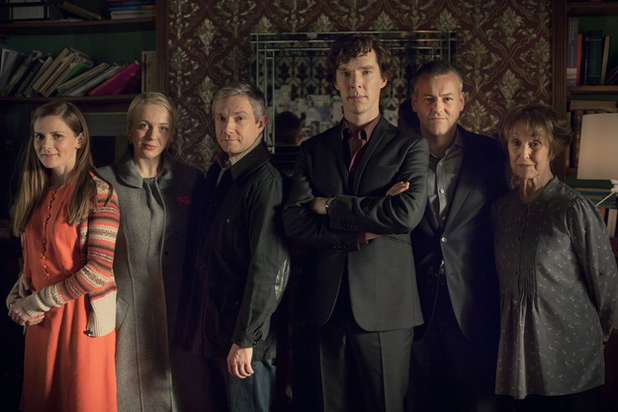 Sherlock Series 3 still