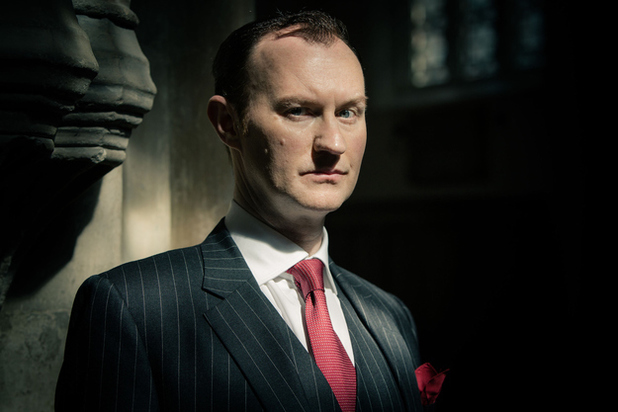 Mark Gatiss in Sherlock Series 3