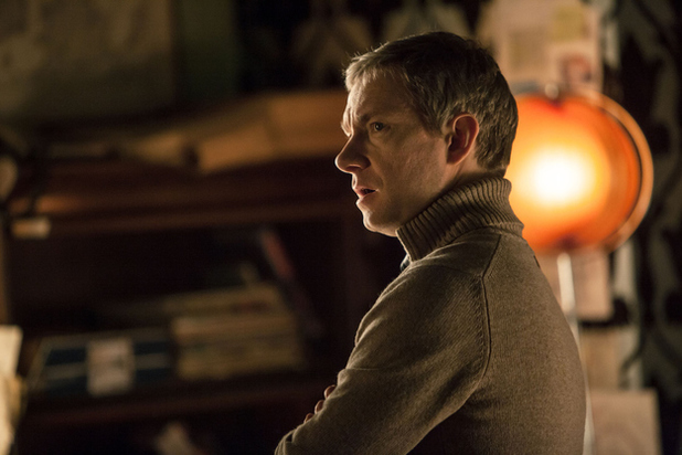 Martin Freeman in Sherlock Series 3