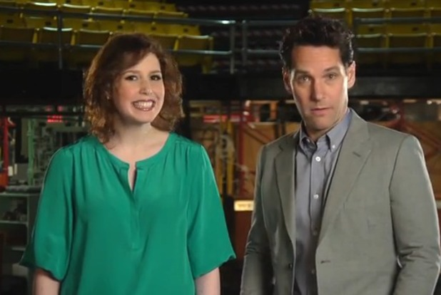 Paul Rudd, Vanessa Bayer in SNL promo