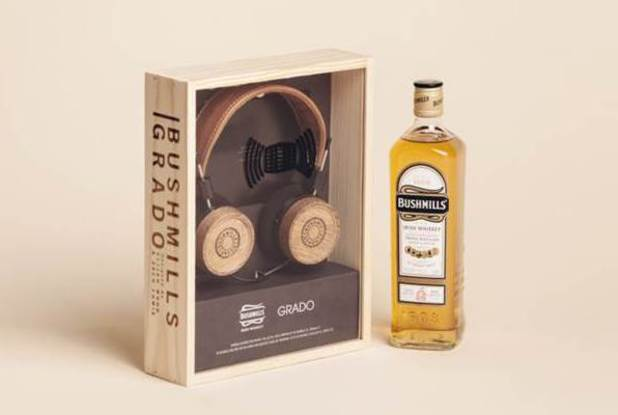 Bushmills and Grado Labs headphones, designed by Elijah Wood and Zach Cowie