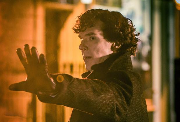 Benedict Cumberbatch in Sherlock Series 3