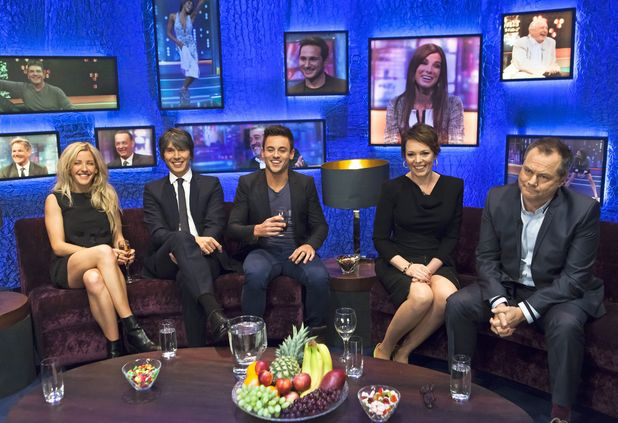 Tom Daley on the Jonathan Ross Show, TX December 7 2013