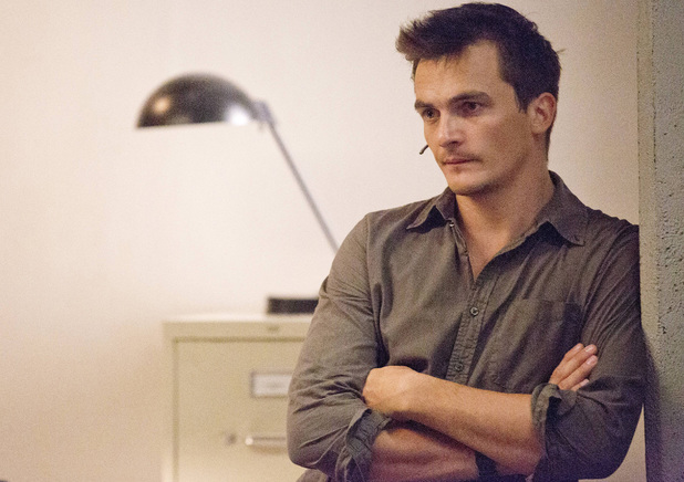 Rupert Friend as Peter Quinn in Homeland: 'Good Night'
