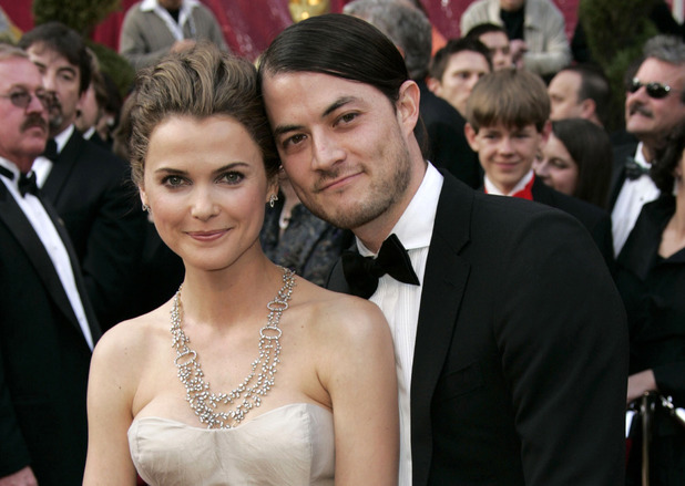 Keri Russell and Shane Deary at the 80th Annual Academy Awards