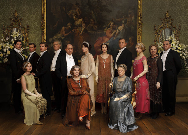 The Downton Abbey Christmas Special cast