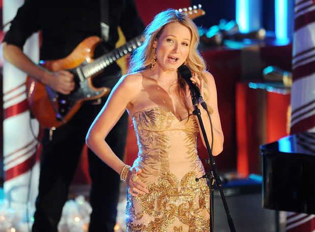 Jewel performing live at 2013 Rockefeller Center Christmas Tree Lighting at Rockefeller Center Plaza in New York