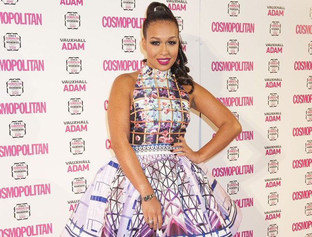 Rebecca Ferguson arrives at the Cosmopolitan Ultimate Women of The Year Awards, at the V&A Museum in London.