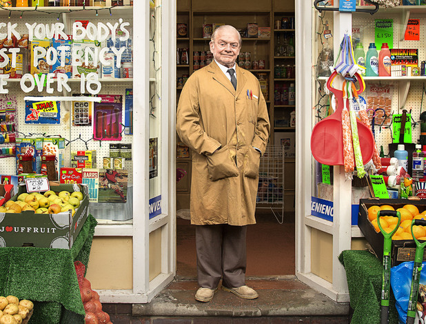 Sir David Jason as Granville in Still Open All Hours
