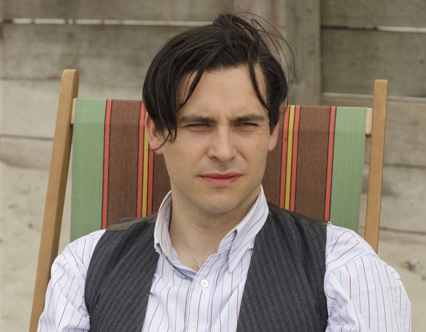 Rob James-Collier as Thomas Barrow in Downton Abbey Christmas Special