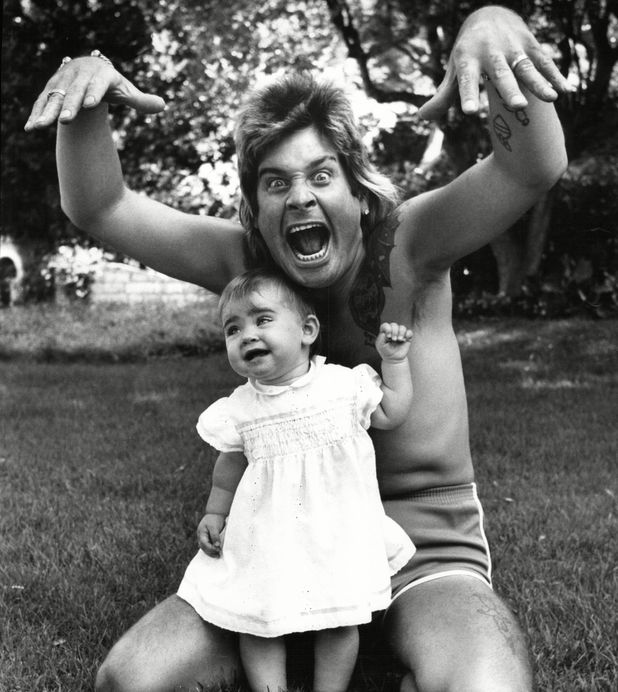 Ozzy Osbourne On Holiday In France With His Daughter Aimee 30 Jul 1984