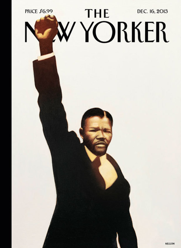 The New Yorker Nelson Mandela cover