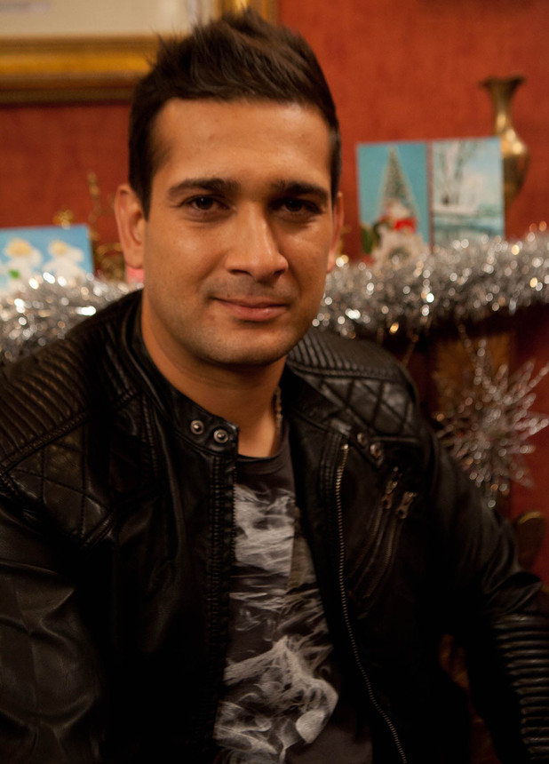 Jimi Mistry as Khalid in Coronation Street