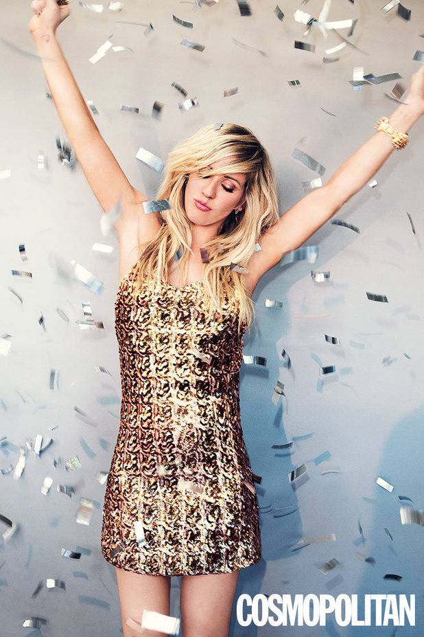 Ellie Goulding photo shoot for Cosmopolitan magazine
