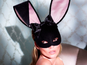 Kate Moss as Playboy bunny - pictures
