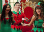 Glee: Sexy Santas in censored Christmas ep