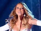 Mariah Carey performing live at 2013 Rockefeller Center Christmas Tree Lighting at Rockefeller Center Plaza in New York